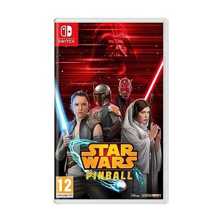 Jogo Star Wars Pinball - Switch