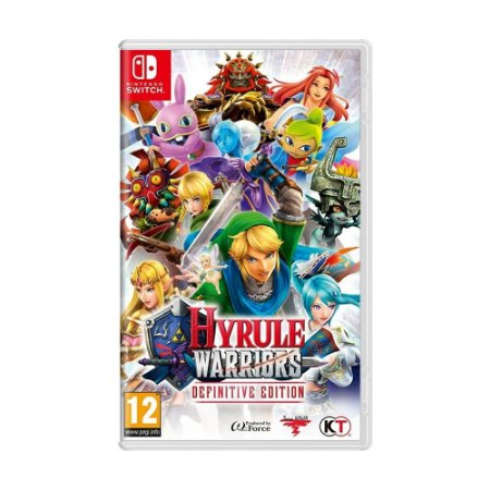 Jogo Hyrule Warriors: Definitive Edition - Switch