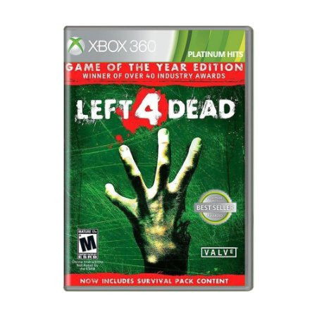 Jogo Left 4 Dead (Game of the Year Edition) - Xbox 360