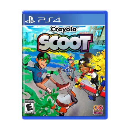 Jogo Crayola Scoot - PS4