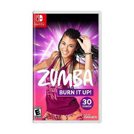 Jogo Zumba Burn it Up! - Switch