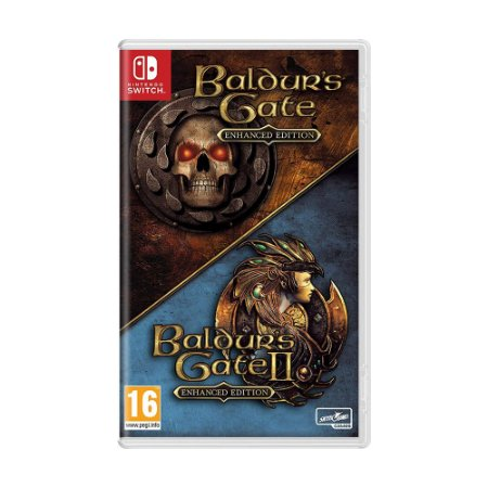 Jogo Baldur's Gate and Baldur's Gate II (Enhanced Editions) - Switch