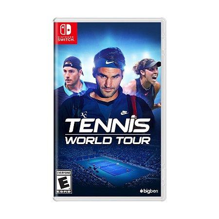 Jogo Tennis World Tour - Switch