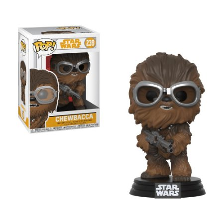 Boneco Chewbacca (w/ Goggles) 239 Star Wars - Funko Pop