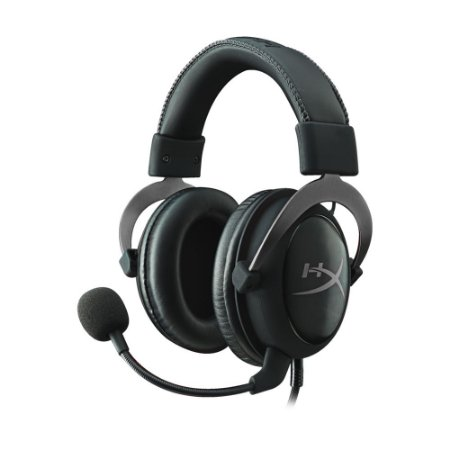 Headset Gamer HyperX Cloud II 7.1 Gun Metal com fio - Multiplataforma