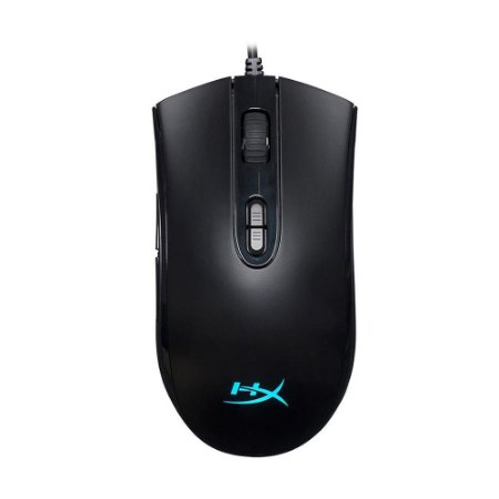 Mouse Gamer HyperX Pulsefire Core HX-MC004B RGB 6200 DPI com fio