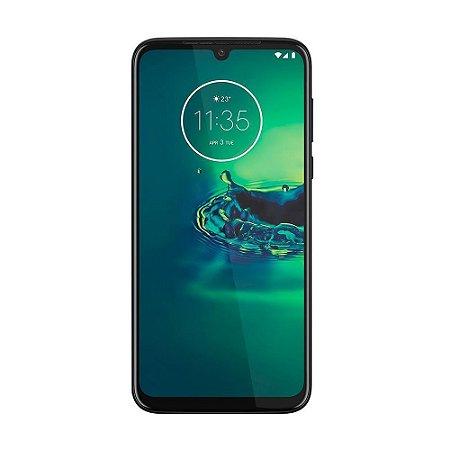 "Smartphone Motorola Moto G8 Plus 64GB 48MP Tela 6,3"" Azul Safira"