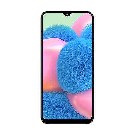 "Smartphone Samsung Galaxy A30s 64GB 38MP Tela 6,4"" Branco"