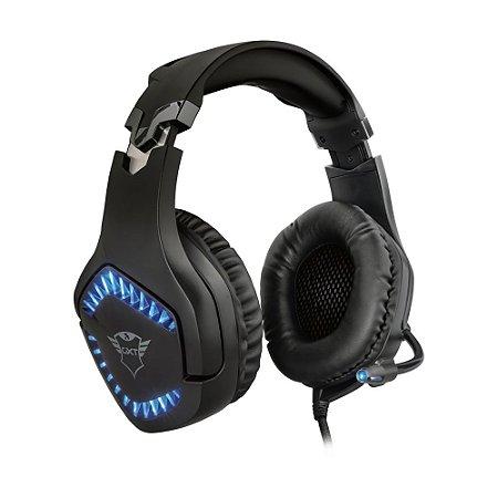 Headset Gamer Trust GXT 460 Varzz Illuminated com fio - PC