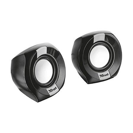 Caixa de Som Trust Polo Compact 2.0 T20943 8W com fio