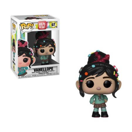 Boneco Vanellope 07 Disney Ralph Breaks the Internet - Funko Pop