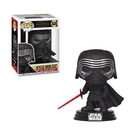 Boneco Kylo Ren Supreme Leader 308 Star Wars - Funko Pop