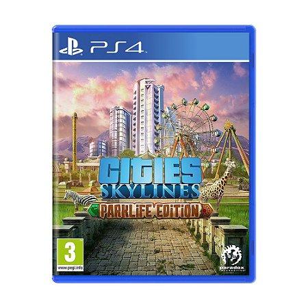 Jogo Cities: Skylines (Parklife Edition) - PS4