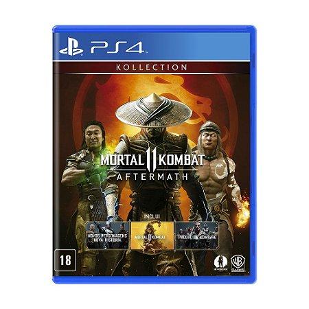 Jogo Mortal Kombat 11 (Aftermath Kollection) - PS4