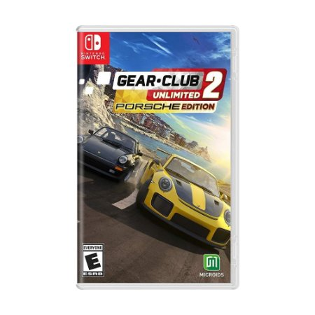 Jogo Gear.Club Unlimited 2 (Porsche Edition) - Switch