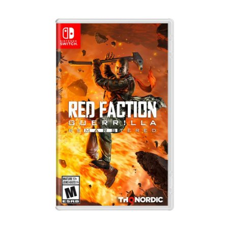 Jogo Red Faction Guerrilla Re-Mars-tered - Switch