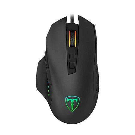 Mouse Gamer T-Dagger Captain RGB 8000 DPI com fio
