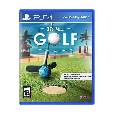Jogo 3D Minigolf  - PS4