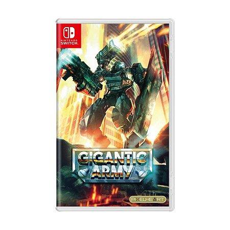 Jogo Gigantic Army - Switch