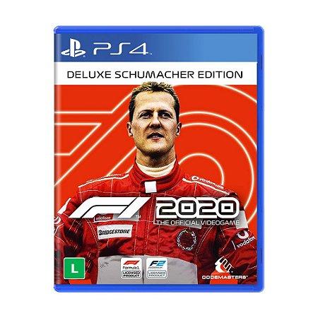 Jogo F1 2020 (Edição Schumacher Deluxe) - PS4