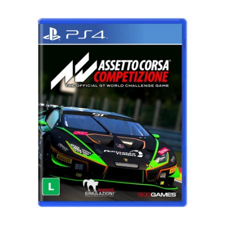 Jogo Assetto Corsa Competizione - PS4