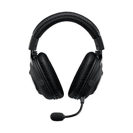 Headset Gamer Logitech Pro X 981-000817 Preto com fio - PC