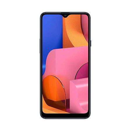 """Smartphone Samsung Galaxy A20s 32GB 13MP Tela 6,5"""" Azul"""