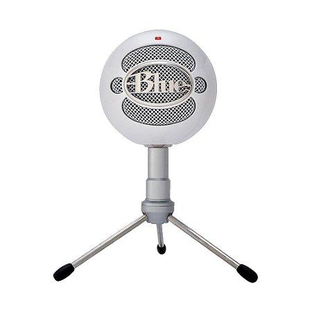 Microfone Condensador USB Blue Snowball iCE 988-000070 Branco - PC