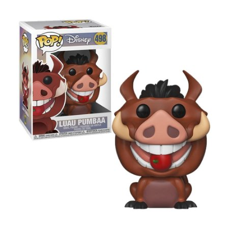 Boneco Luau Pumbaa 498 Disney O Rei Leão - Funko Pop!