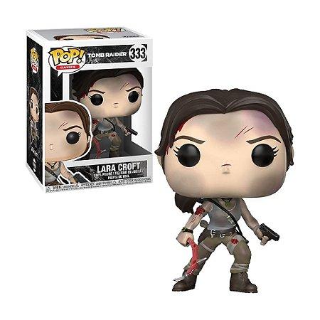 Boneco Lara Croft 333 Tomb Raider - Funko Pop!