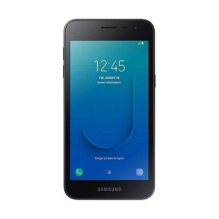 """Smartphone Samsung Galaxy J2 Core 16GB 8MP Tela 5"""" Preto"""