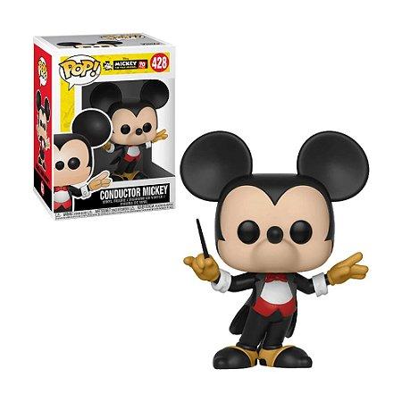 Boneco Conductor Mickey 428 Disney - Funko Pop!