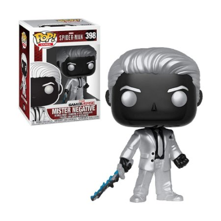 Boneco Mister Negative 398 Spider-Man - Funko Pop!