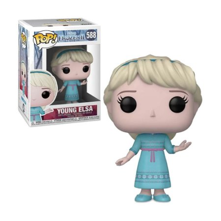Boneco Young Elsa 588 Disney Frozen 2 - Funko Pop!