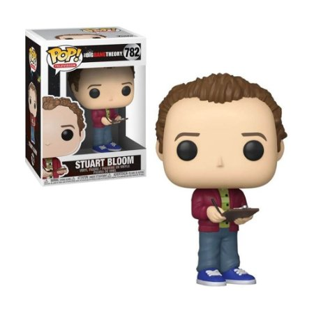 Boneco Stuart Bloom 782 The Big Bang Theory - Funko Pop!
