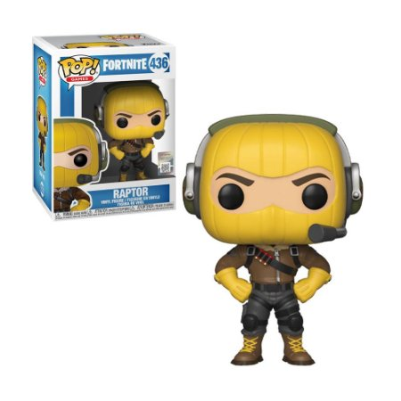 Boneco Raptor 436 Fortnite - Funko Pop!