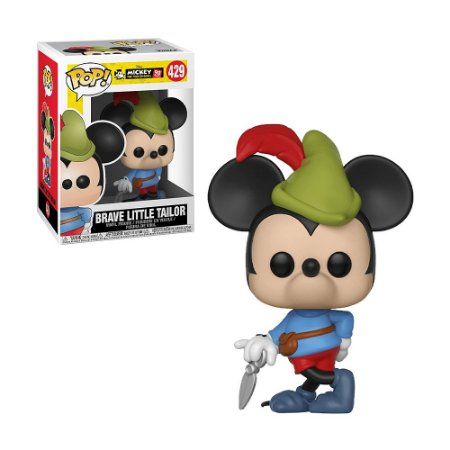 Boneco Brave Little Tailor 429 Disney Mickey - Funko Pop!