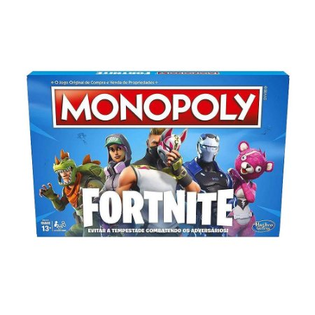 Jogo de Tabuleiro Hasbro Monopoly Fortnite