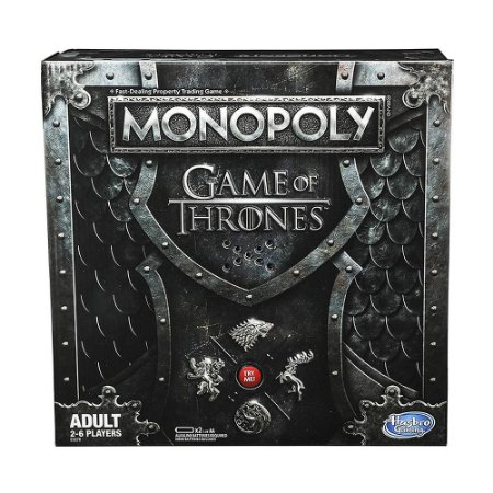Jogo de Tabuleiro Hasbro Monopoly Game of Thrones