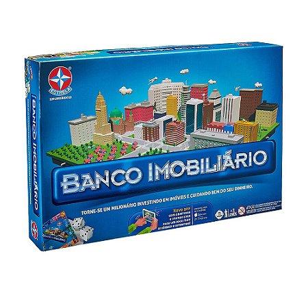 Jogo de Tabuleiro Estrela Banco Imobiliário