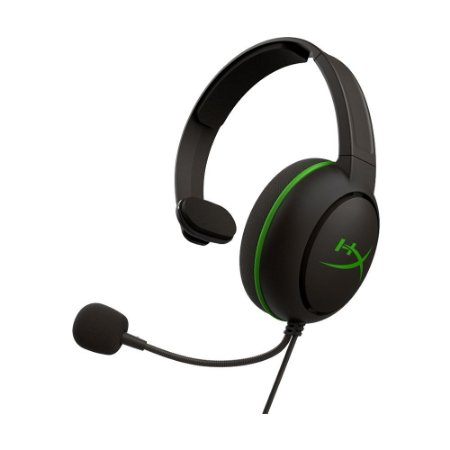 Headset Gamer HyperX CloudX Chat Preto e Verde com fio - Xbox One