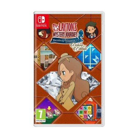 Jogo Layton's Mystery Journey: Katrielle and The Millionaires' Conspiracy (Deluxe Edition) - Switch