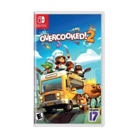 Jogo Overcooked! 2 - Switch