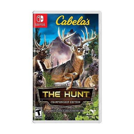Jogo Cabela's: The Hunt (Championship Edition) - Switch