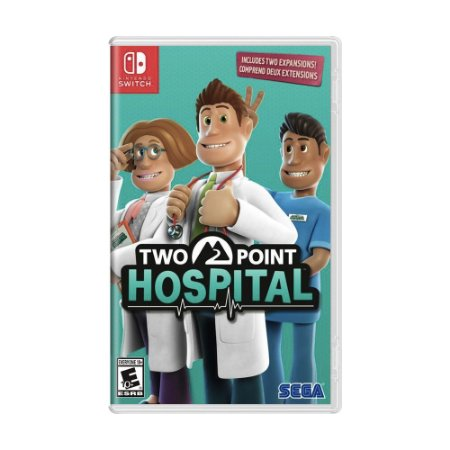 Jogo Two Point Hospital - Switch