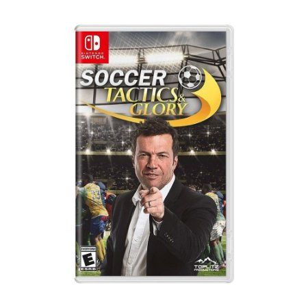 Jogo Soccer Tactics & Glory - Switch