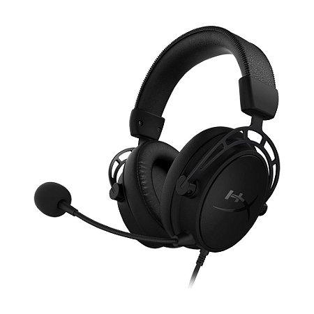 Headset Gamer HyperX Cloud Alpha S 7.1 Preto com fio - PC e PS4