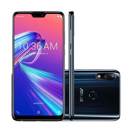 "Smartphone Asus Zenfone Max Pro M2 64GB 12MP Tela 6,3"" Black Saphire"