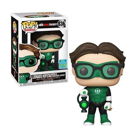 Boneco Leonard Hofstadter as Green Lantern 836 The Big Bang Theory (Limited Edition) - Funko Pop!