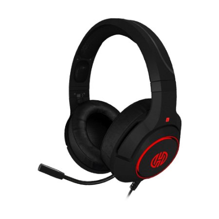 Headset Gamer Hoopson Archer LF80R 7.1 LED com fio - PC